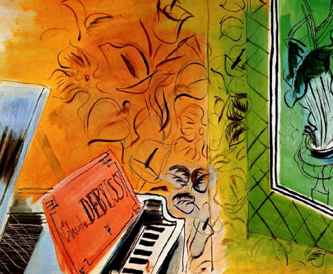 Raoul Dufy. In honor of Claude Debussy