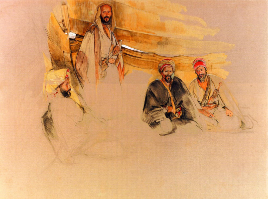 John Frederick Lewis. The Bedouins