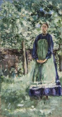 Семен Гавриилович Никифоров. В цветущем саду