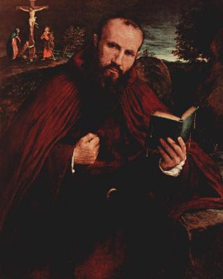Lorenzo Lotto. Fra Gregorius White di Vicenza