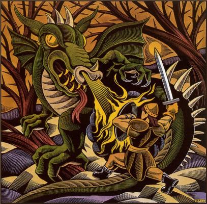 Крис Галл. Убей некоторых драконов