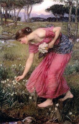 John William Waterhouse. Daffodils
