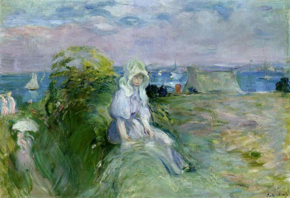 Berthe Morisot. On the cliff in Portree
