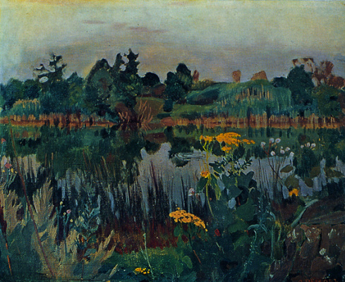 Arkady Alexandrovich Rylov. Quiet river