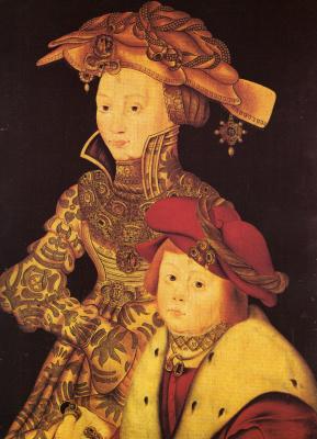 Франц Вольфганг Рорих. Портрет дамы с ребенком