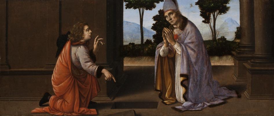 Lorenzo di Credi. A Miracle of Saint Donato of Arezzo