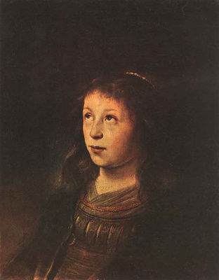 Ян Ливенс. Портрет девушки