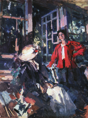 Konstantin Korovin. Window