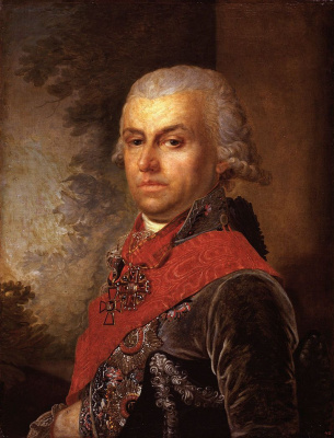 Vladimir Lukich Borovikovsky. Portrait Of D. P. Troshchinsky