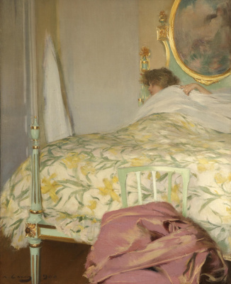 Ramon Casas i Carbó. Late morning (Morning dream)