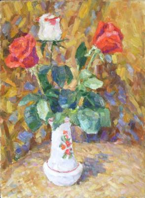 Urii Parchaikin. Three roses