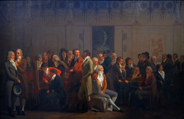 Louis-Leopold Boi. Meeting artists in the workshop of Izabe