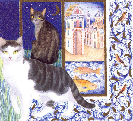 Isabel Brent. Friends and cats