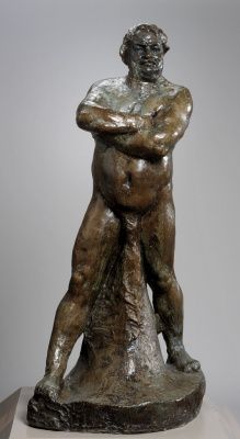 Auguste Rodin. The Monument To Balzac. Etude