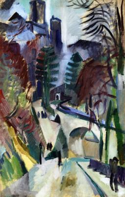 Robert Delaunay. Lan City