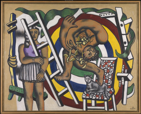 Fernand Leger. The acrobat and his partner