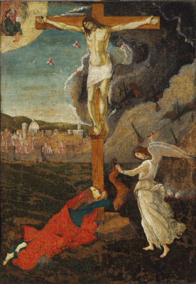 Sandro Botticelli. Mystical Crucifixion