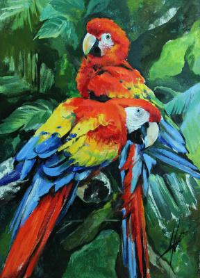 Olga Shatskaya. Feathered friends