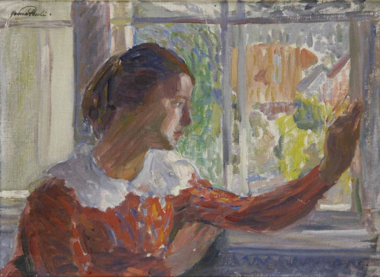 Ханна Паули. Девушка у окна