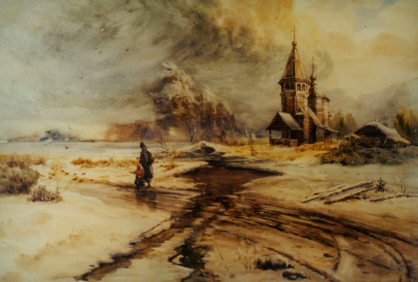 Alexey Yuryevich Maslov. Spring meets winter