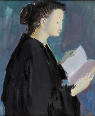 Raúl Soldi. The reading