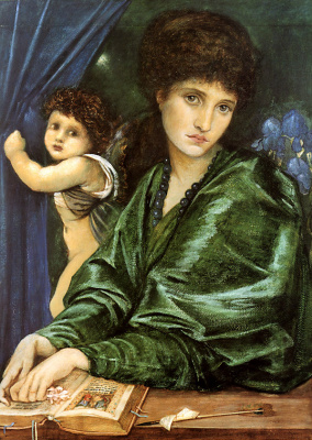 Девушка в зеленом