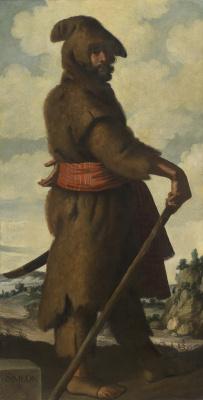"Francisco de Zurbaran. Simeon in the series, ""Jacob and his twelve sons"""