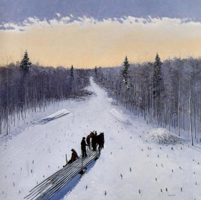Питер Шостак. Лошади