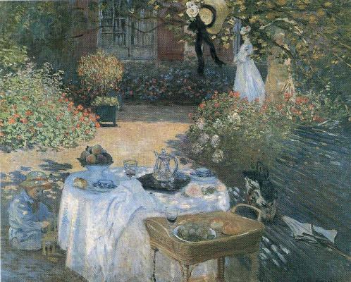 Жан Эдуар Вюйар. Обед в саду