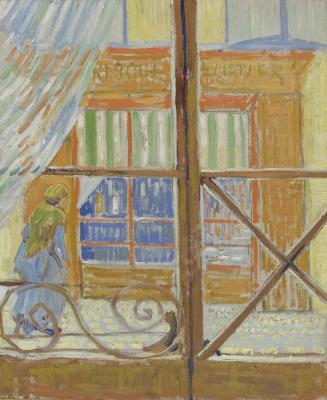 Винсент Ван Гог. Вид на мясную лавку