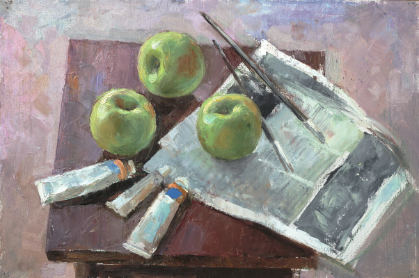 Michael Neufeld. Apples in the town of Engels, H. M.