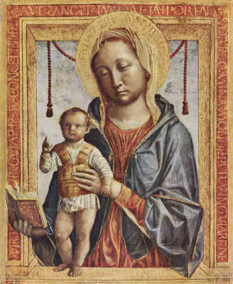 Винченцо Фоппа. Мария с книгой и благославляющим мальчиком-Христом