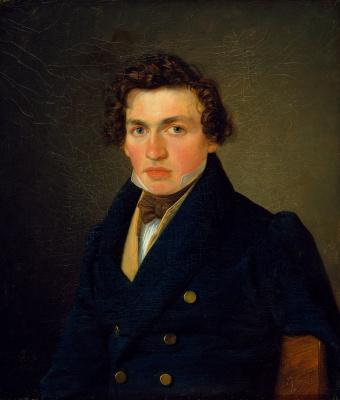 Вильгельм Бендз. Портрет молодого человека
