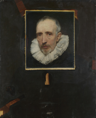 Anthony van Dyck. Portrait of Cornelis van der gest