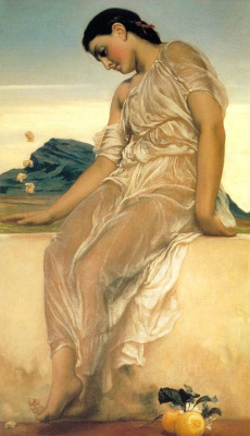 Frederic Leighton. Plot 8