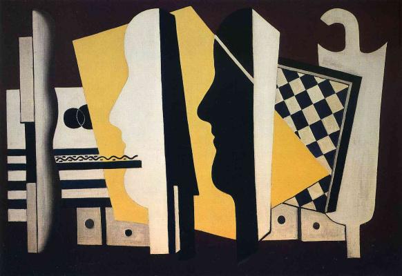 Fernand Leger. Two profiles