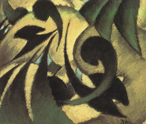 Arthur Dove. Greens