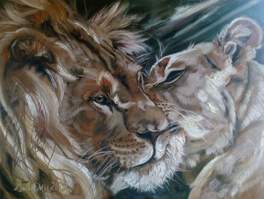 Vlami Tatyana Fedorova. Lions. Weasel.