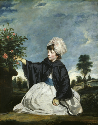 Joshua Reynolds. Portrait of Lady Carolina Howard