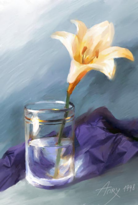 Анри Немо. Желтый цветок