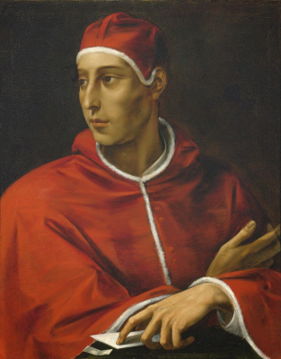 Cesari Giuseppe (Cavalier d'Arpino). Portrait of Pope.