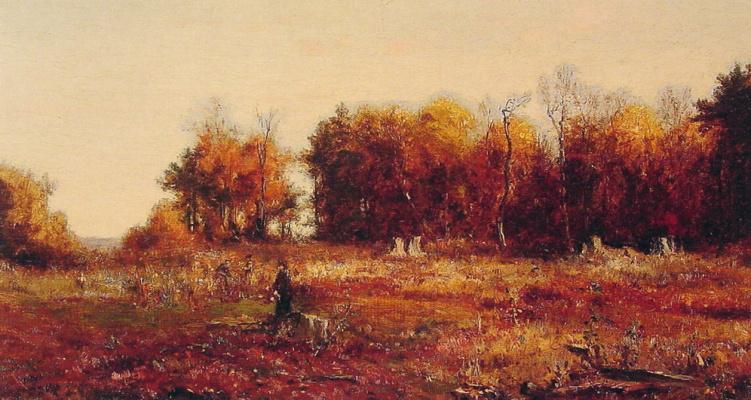 Джервис Макент. Сбор осенних листьев