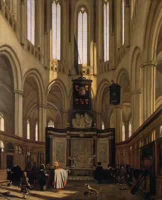 Emmanuel de Witte. Choir Neuve Kirk