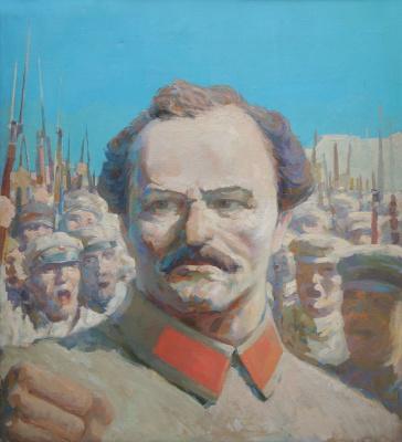 Alexandrovich Rudolf Pavlov. Trotsky L.D.