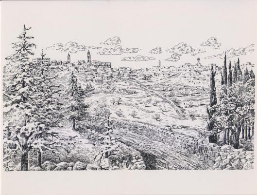 "Aleef. G. Aleev ""Bethlehem"" GAleeff 1954"
