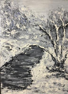 Victoria Valentinovna Zachkova. Winter landscape
