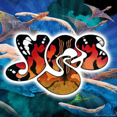 Роджер Дин. Yes лого (2012)