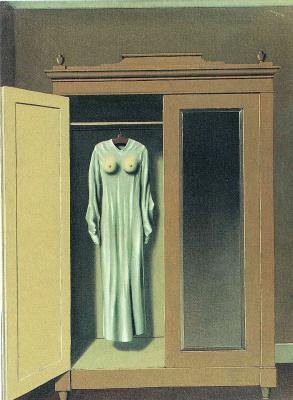 René Magritte. Dedication Mac Sennet