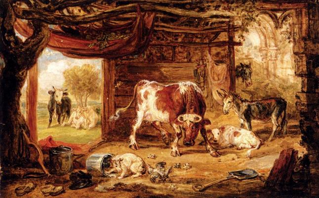 Джеймс Уорд. Коровы
