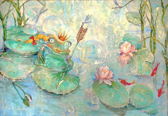 Evgeny Anatoleviz Babushkin. Frog-Princess